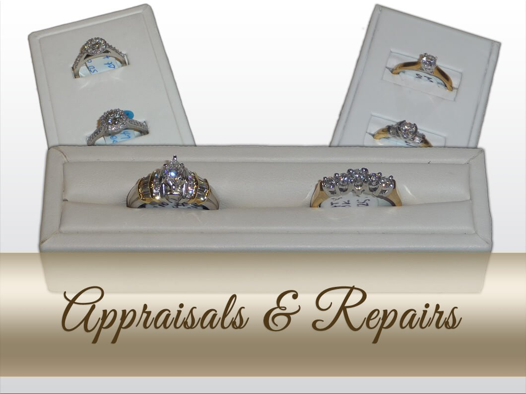 jewelry appraisals and repairs